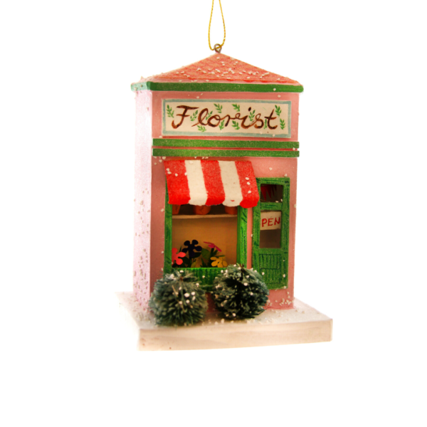 Paper Maché Florist Shop Ornament