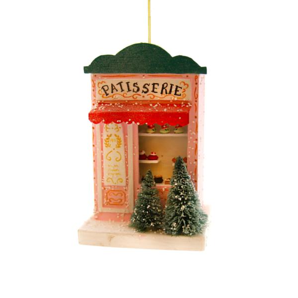Paper Maché Patisserie Shop Ornament