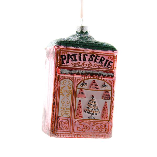 Glass Patisserie Shop Ornament