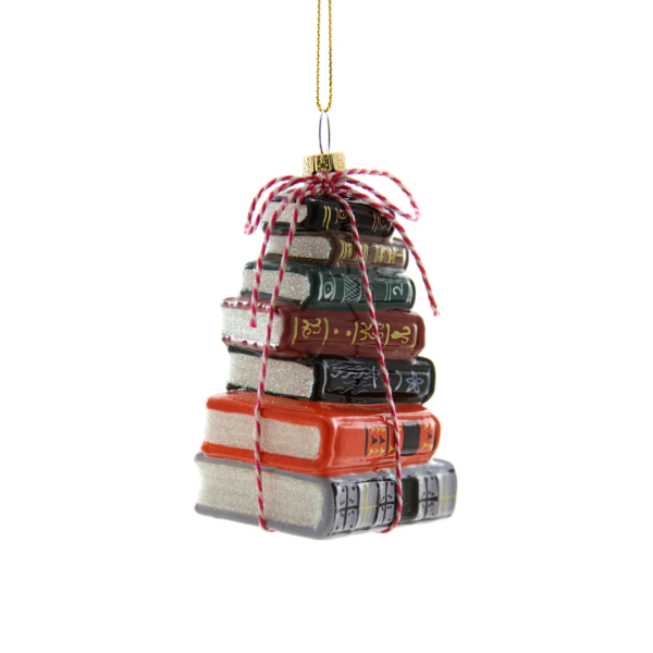 Stacked Tomes Ornament