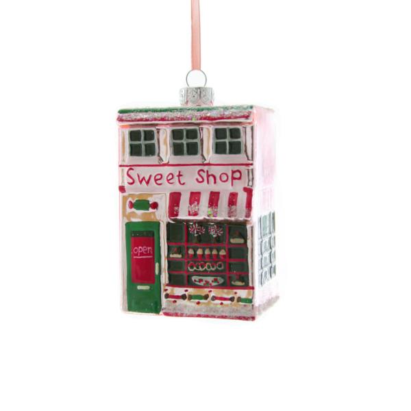 Glass Sweet Shop Ornament