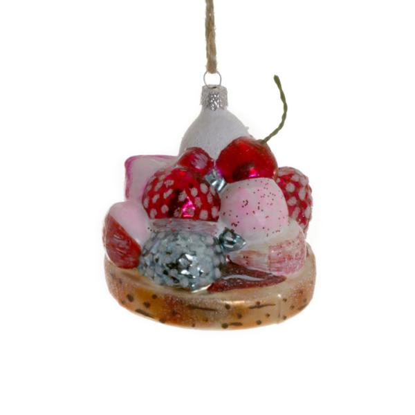 Cody Foster & Co Tartelette Ornament