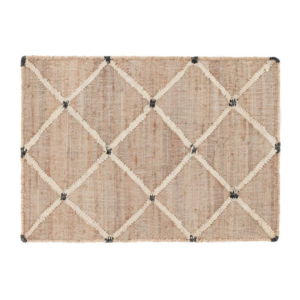 Dash and Albert Lattice Woven Jute Rug