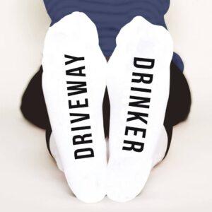 Driveway Drinker Socks
