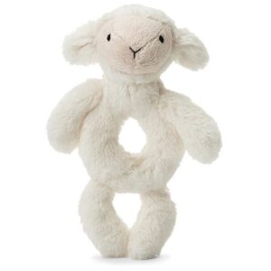 Jellycat Bashful Lamb Rattle