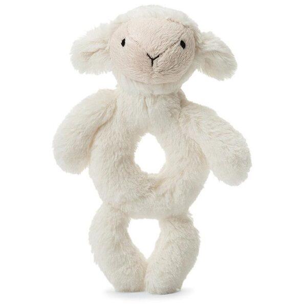Jellycat Bashful Lamb Rattle