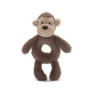 Jellycat Bashful Monkey Rattle