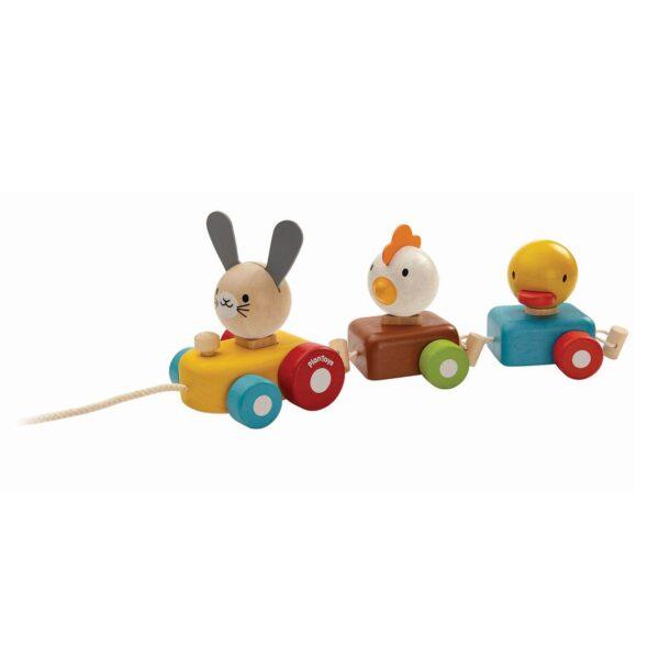 PlanToys Animal Train Sorter