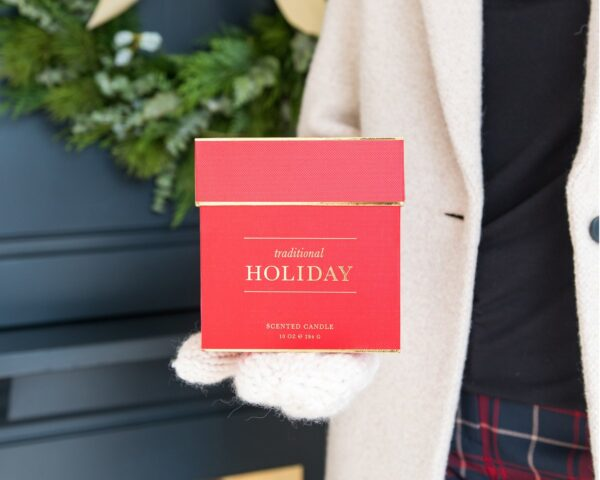 Sugar Paper Signature Holiday Candle Lifestyle