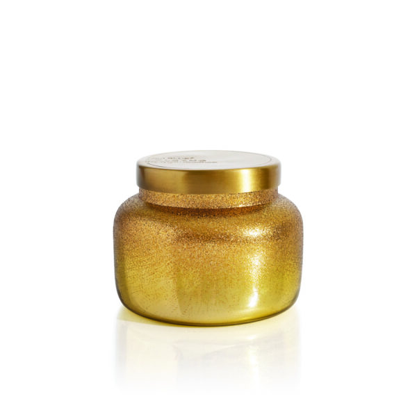 Volcano Gold Glitter Signature Jar Candle