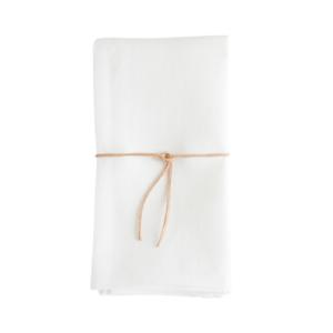 White Linen Heirloom Napkins