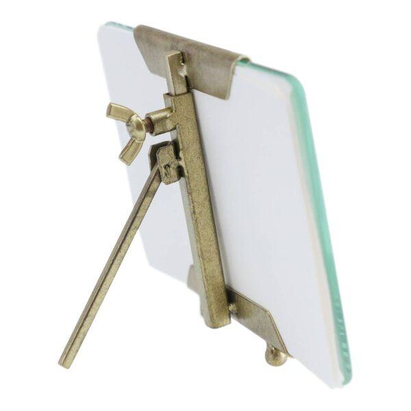 Frame Beveled 4x6 Glass Brass Back