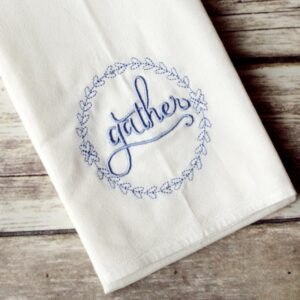 Gather Floursack Tea Towel