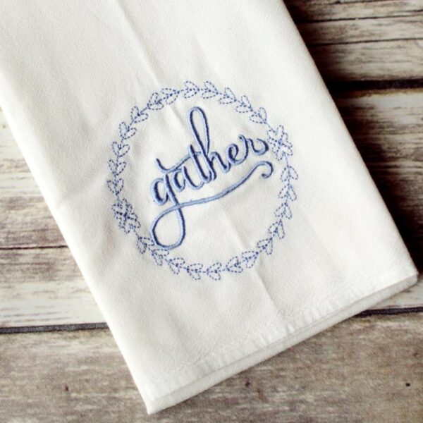 Gather Floursack Tea Towel
