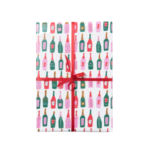 Make a Toast Wrapping Paper Roll