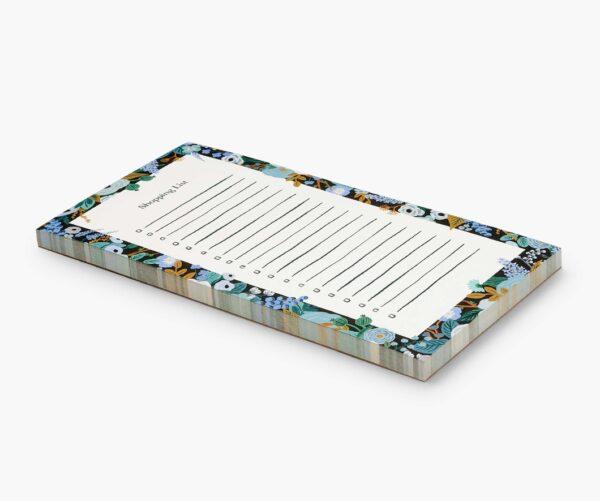 Rifle Paper Co Blue Floral Market Pad 1