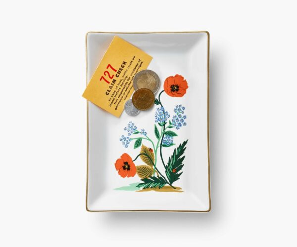 Rifle Paper Co Catchall Tray with Coins
