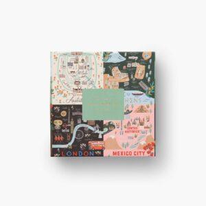 Rifle Paper Co Maps Puzzle
