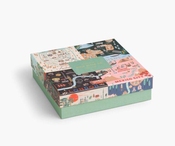 Rifle Paper Co Maps Puzzle Box