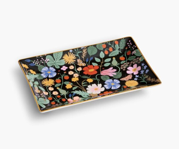 Rifle Paper Co Strawberry Fields Catchall Tray 1