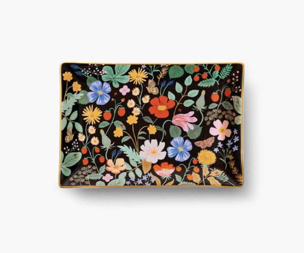 Rifle Paper Co Strawberry Fields Catchall Tray