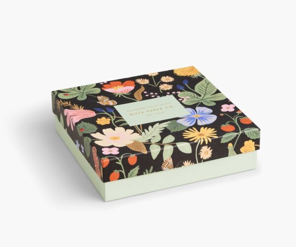 Rifle Paper Co Strawberry Fields Puzzle Side