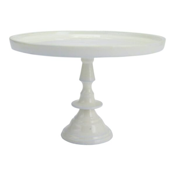 Small Ivory Pedestal
