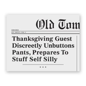 Thanksgiving Headline Card