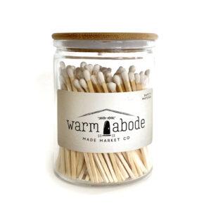 Warm Abode White Matches