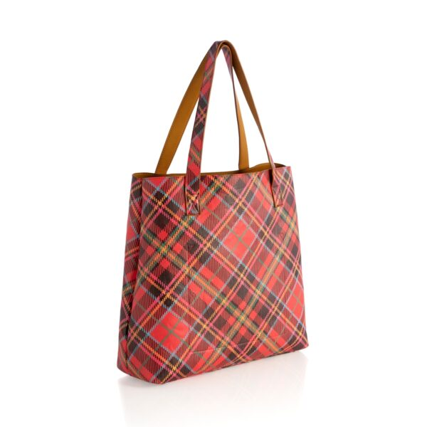 Black and Holly Reversible Tote 4