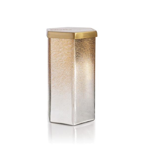 Crystal Pine Hexagon Candle
