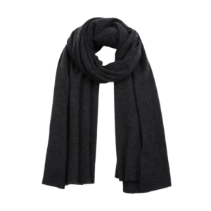 White and Warren Charcoal Heather Travel Wrap