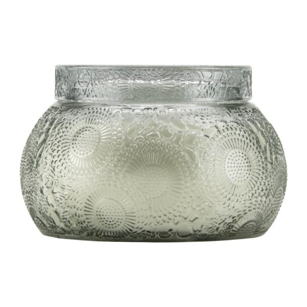 Voluspa French Cade Lavendar Chawan Bowl Candle Side