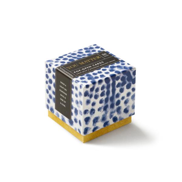 You Matter Pop-Open Card Set Box