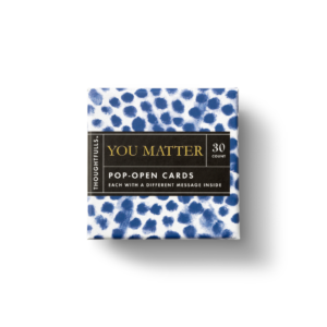 You Matter Pop-Open Card Set Box Top