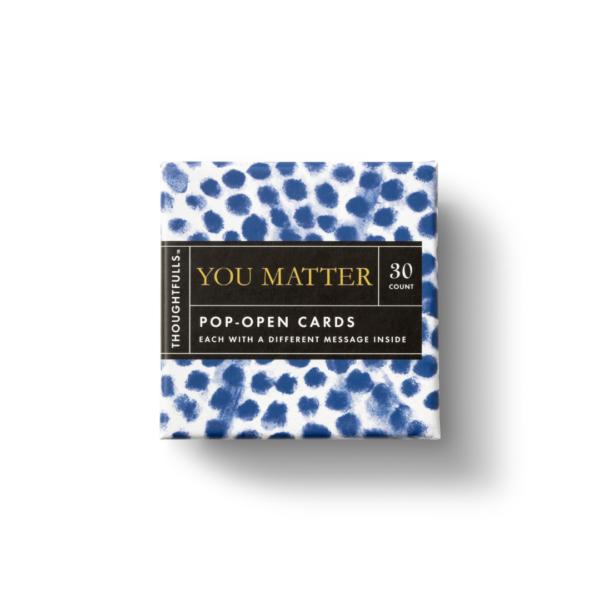 You Matter Pop-Open Card Set Box Top