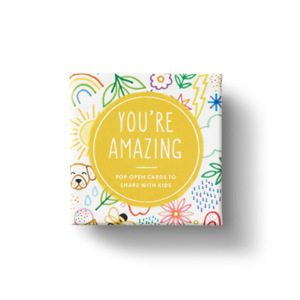 You're Amazing Pop-Open Card Set Top