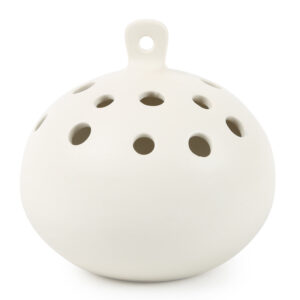 Ceramic Hanging Flower Frog Vase