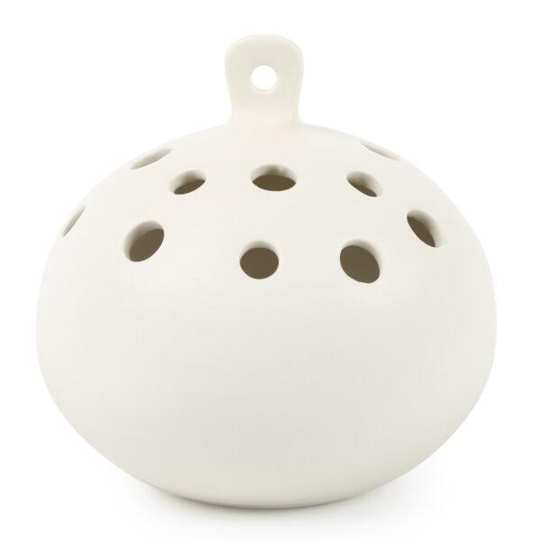 Ceramic Hanging Flower Frog Vase