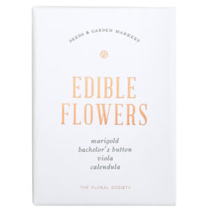 Edible Flower Seed Kit