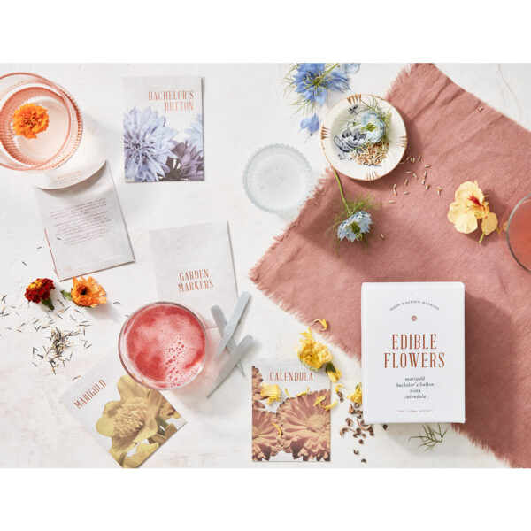 Edible Flower Seed Kit Editorial