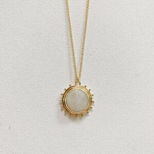 Isabella Moonstone Necklace
