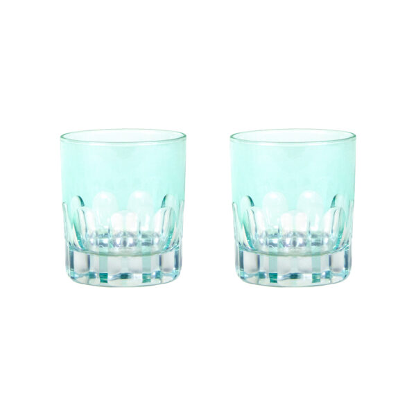 Menthe Rialto Old Fashion Glass