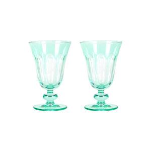 Menthe Rialto Tulip Glass