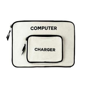 Small Cream Computer Case