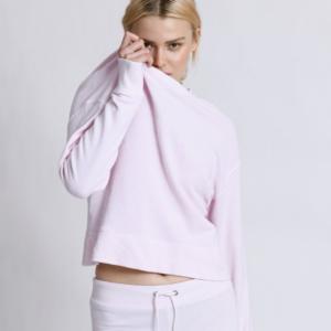 Rose Quartz Pullover Sweatshirt 1