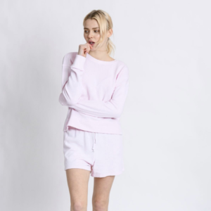 Rose Quartz Sweat Shorts