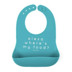 Bella Tunno Alexa Where's My Food Bib
