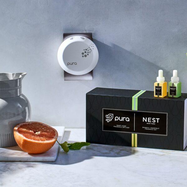 Nest Pura Smart Home Fragrance Diffuser Set Lifestyle