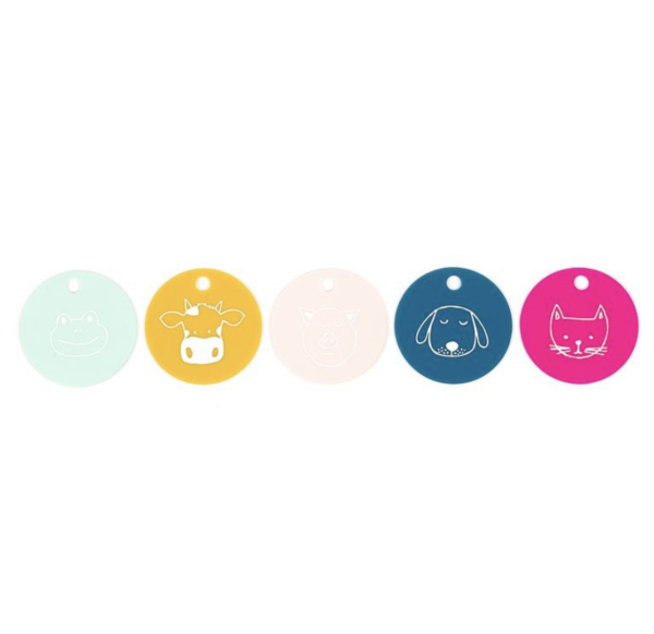 Party Animals Teething Flashcards Icons